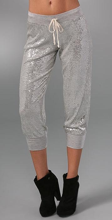 Haute Hippie Sequin Sweatpants