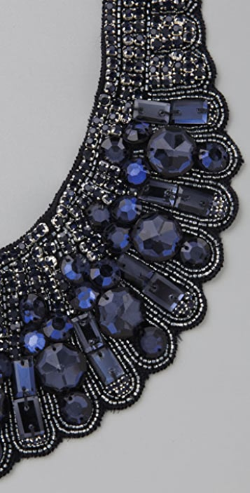 Haute Hippie Blue Diamond Necklace