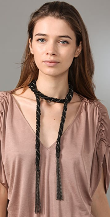 Haute Hippie Dead Bride Lariat Necklace