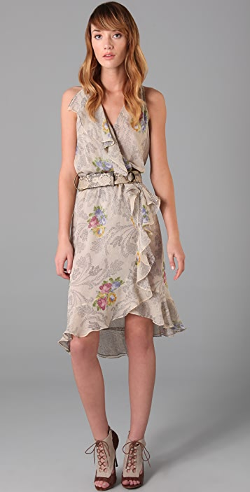 Haute Hippie Ruffle Dress