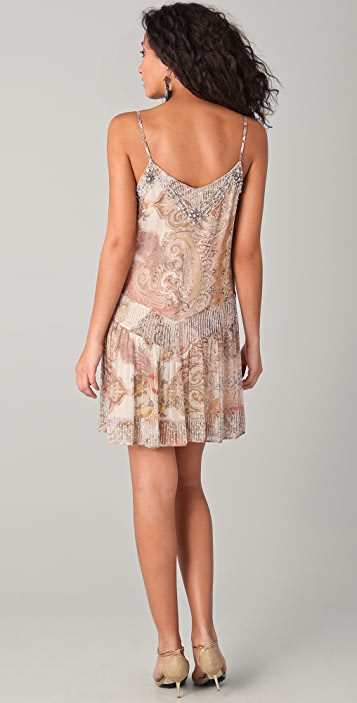 Haute Hippie Layla Beaded Mini Dress