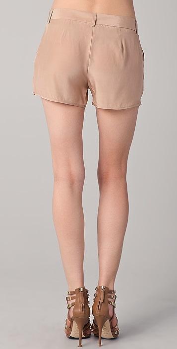 Haute Hippie Silk Shorts