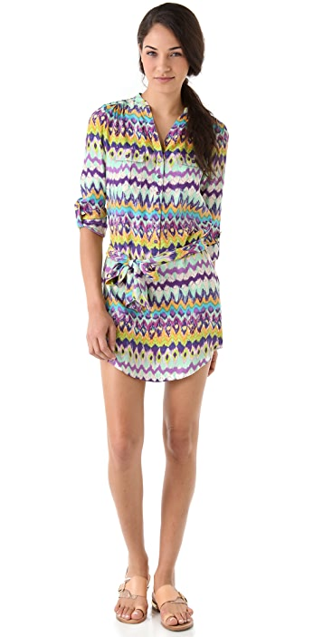 Haute Hippie Shirtdress