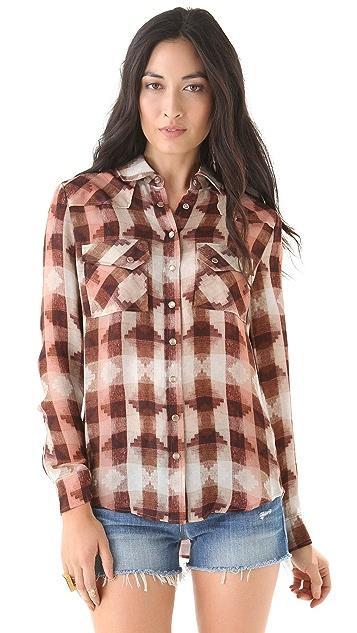 Haute Hippie Western Shirt