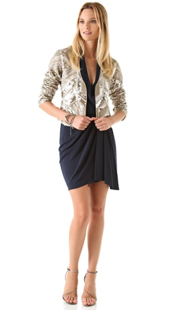 Haute Hippie Sequined Jacket