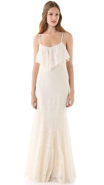 Haute Hippie Lace Gown
