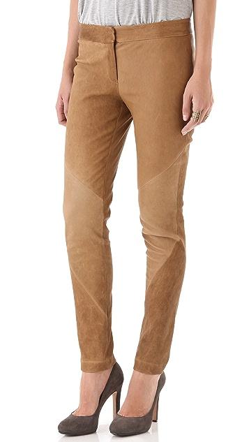 Haute Hippie Stretch Leather Pants