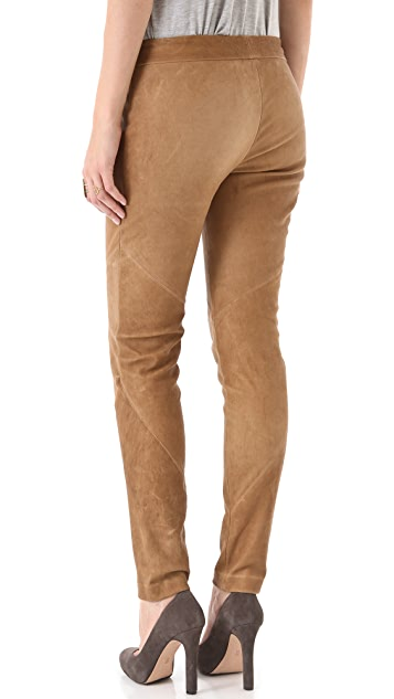 Haute Hippie Stretch Leather Pants