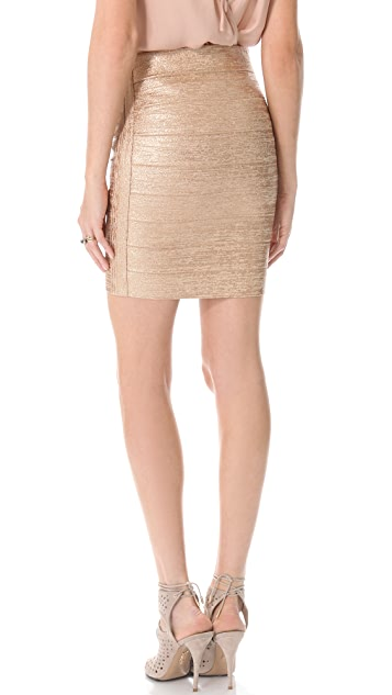 Haute Hippie Bondage Pencil Skirt