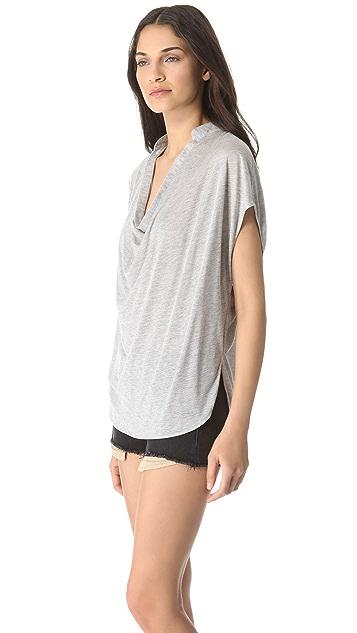 Haute Hippie Jersey Dolman Sleeve Blouse