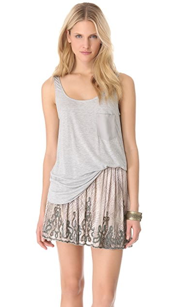Haute Hippie Boyfriend Pocket Tank
