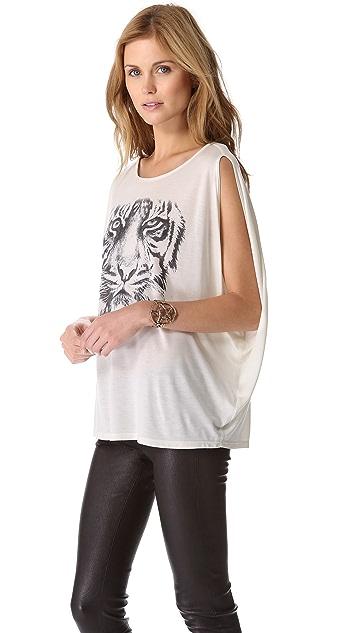 Haute Hippie White Tiger Tee