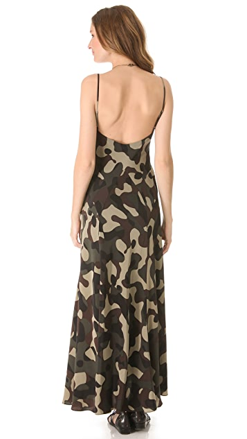 Haute Hippie Camisole Maxi Dress
