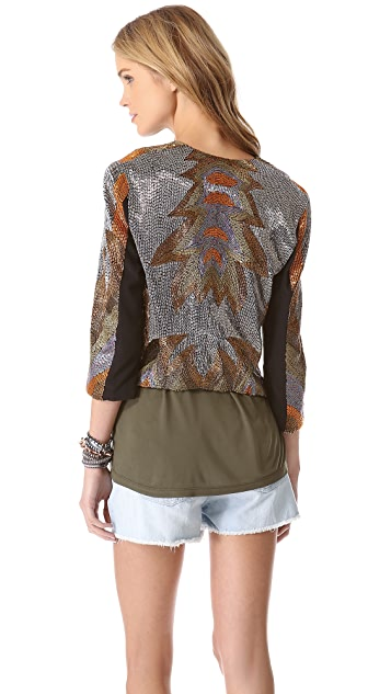 Haute Hippie Bowie Fire Jacket
