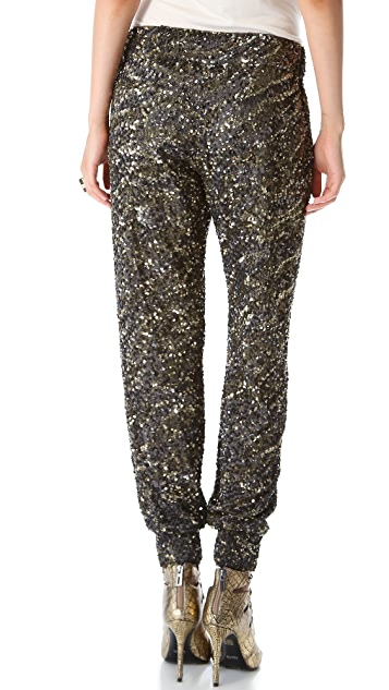 Haute Hippie Sequin Pants
