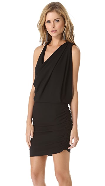 Haute Hippie Drape Stretch Dress