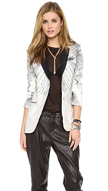 Haute Hippie Engineered Tux Jacket