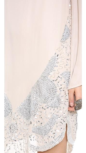Haute Hippie Beaded Dress