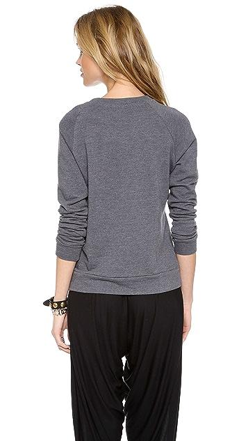 Haute Hippie Longhorn Sweatshirt