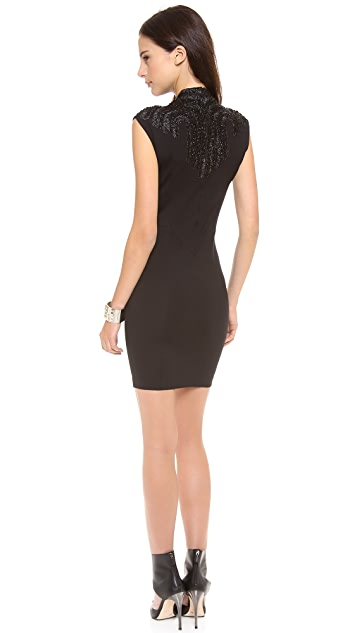 Haute Hippie Embellished Sheath Dress
