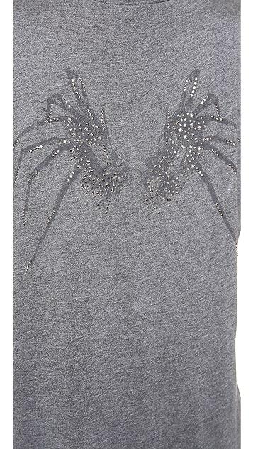 Haute Hippie Spider Wing Muscle Tee