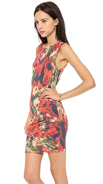 Haute Hippie Side Gathered Dress