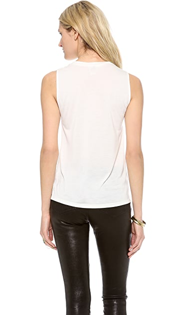 Haute Hippie Straight Up Muscle Tee