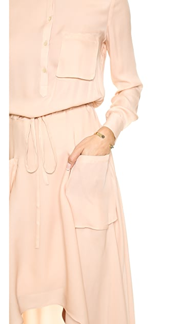 Haute Hippie TWP Trench Gown