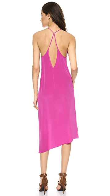 Haute Hippie Asymmetrical Hem Dress