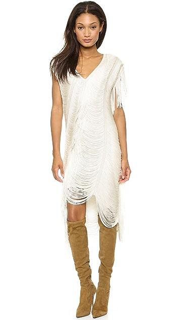 Haute Hippie Beloved Louise Fringe Dress