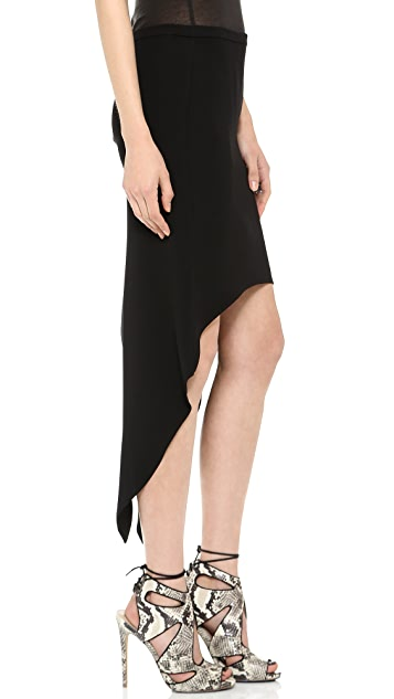 Haute Hippie Skirt with Tails