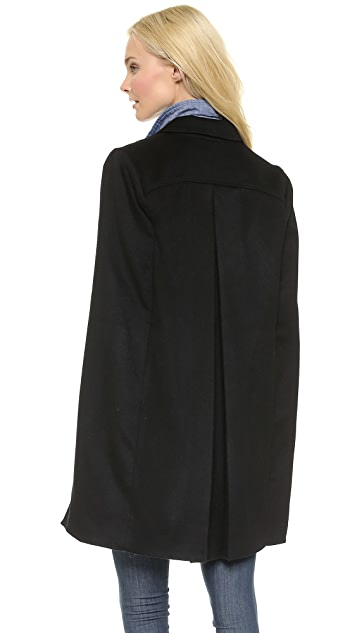 Haute Hippie The Coven Trench Cape