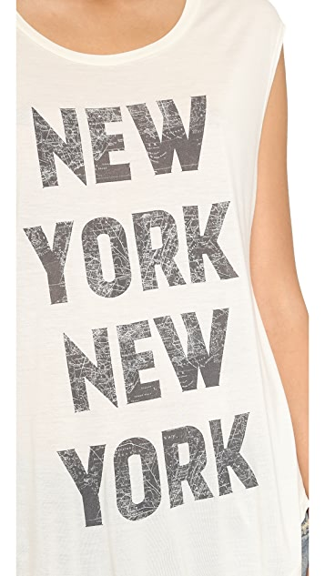 Haute Hippie New York New York Tee