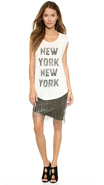 Haute Hippie BB Fringe Skirt