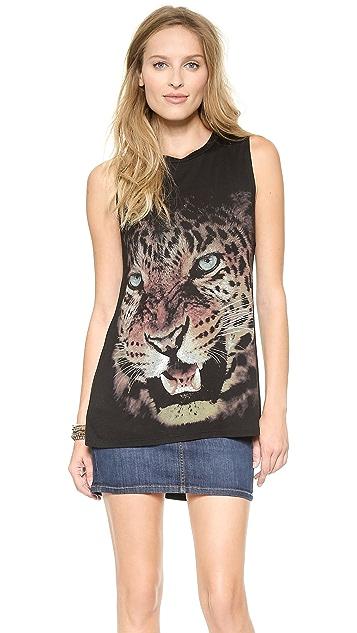 Haute Hippie Cheetah Muscle Tank