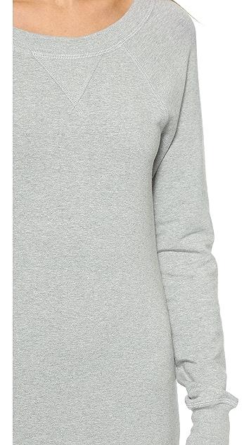 Haute Hippie Sweatshirt Maxi Dress