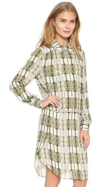Haute Hippie Button Down Dress