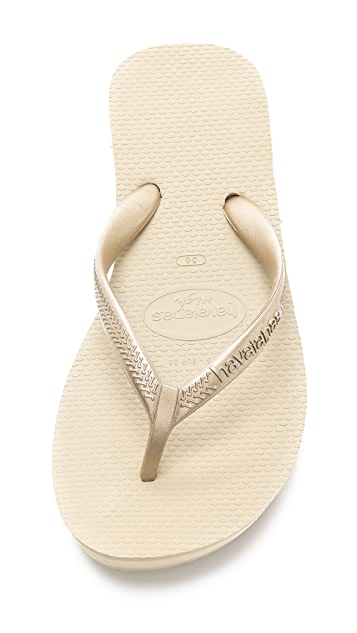 Havaianas High Light Wedge Flip Flop