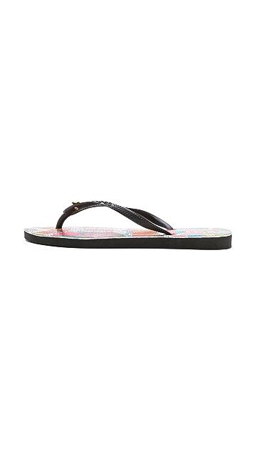 Havaianas Havaianas + Mara Hoffman Ananda Slim Flip Flops