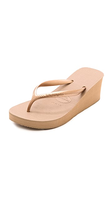 fc8467044 Havaianas High Fashion Wedge Flip Flops