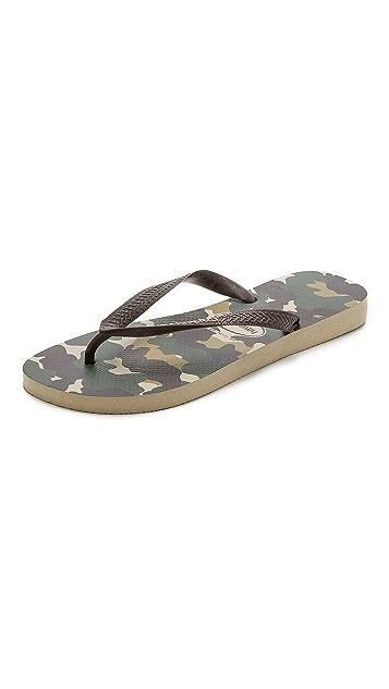 501ee94e5 Havaianas Top Camuflada Flip Flops