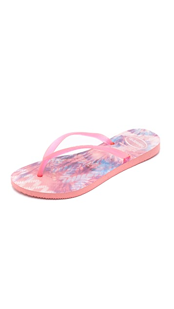 Havaianas Slim Tie Dye Flip Flops