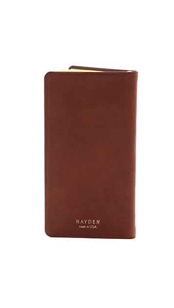 Hayden Pocket Datebook