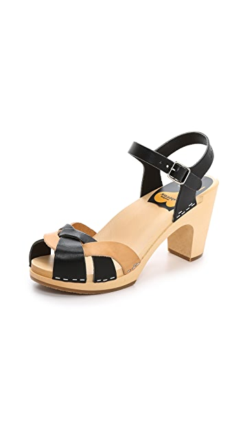 6f7cd8cc1 Swedish Hasbeens Kringlan Sandals