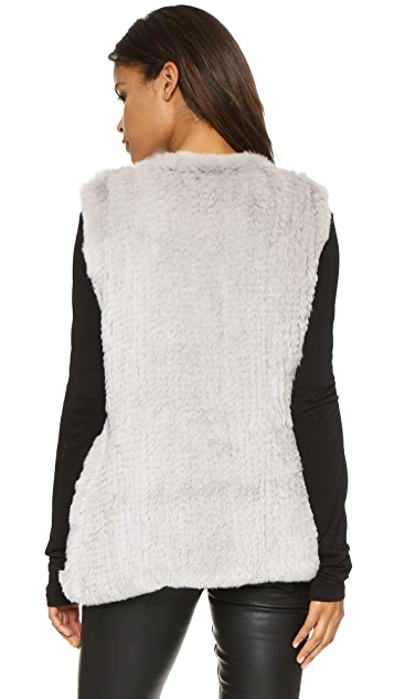 H Brand Libby Fur Vest