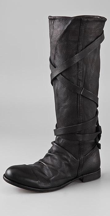 Hudson London Patti Wrap Strap Boots
