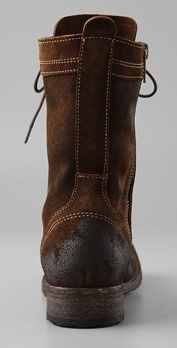Hudson London Dot Combat Boots