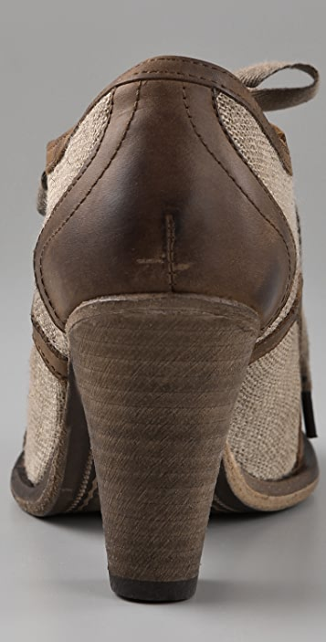 Hudson London Cleo Wingtip Booties