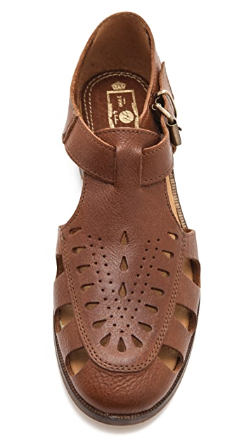 Hudson London Sherbert Flat Sandals