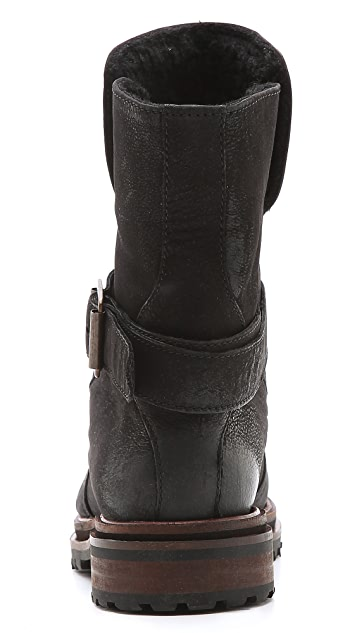 Hudson London Tatham Sherpa Lined Booties